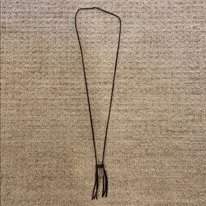 Necklace with crystal and tassels!!